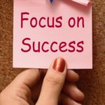 focus on ADHD success sticky note