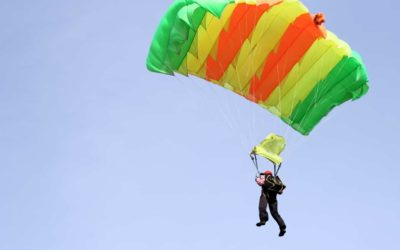 In-flight Parachute Building ADHD Style