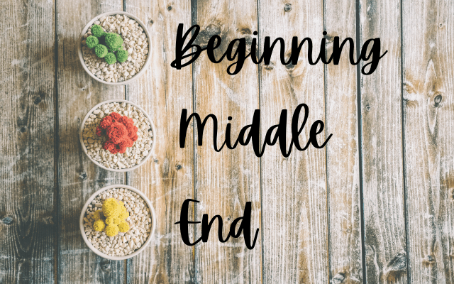 Beginning, Middle and End